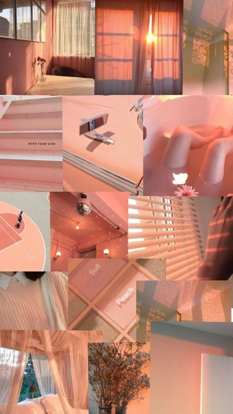 34+ Ideas Aesthetic Wallpaper Pastel Peach For 2019