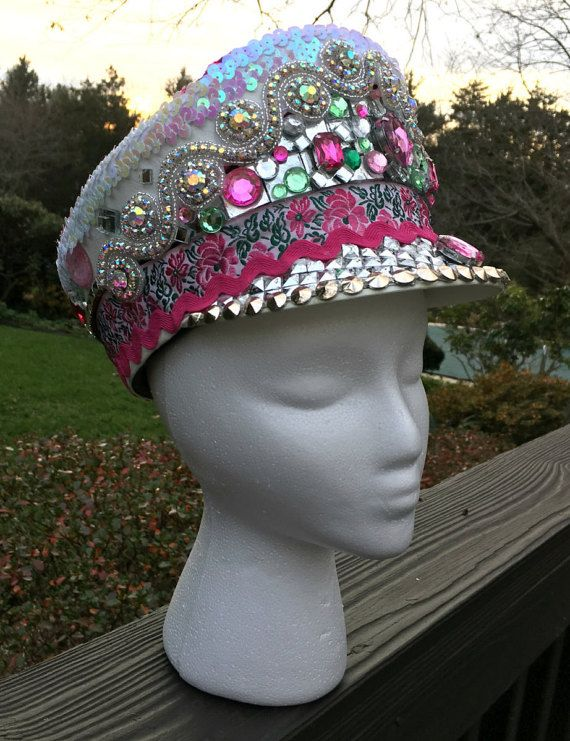 Galactic Jungle Shako Style Marching Band Hat by ReadyToWow