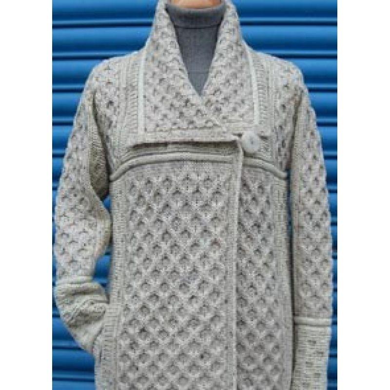 Two Tone Merino Wool Coat | mis tejidos favoritos, crochet and ...