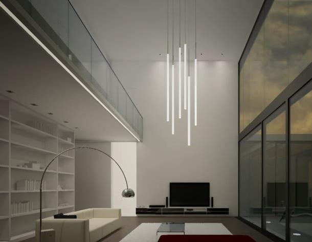 lampara de techo moderna Iluminación interior Pinterest Techo - lamparas de techo modernas