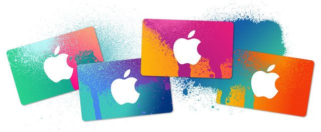 gift guide for the globetrotter: iTunes gift cards
