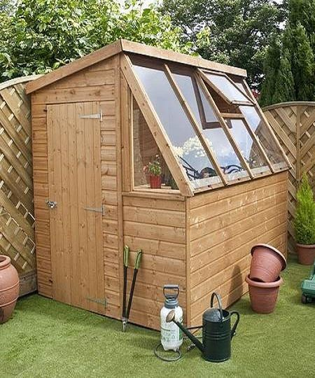 Do It Yourself Home Design: 12 Wood Greenhouse Plans You Can Build Easily