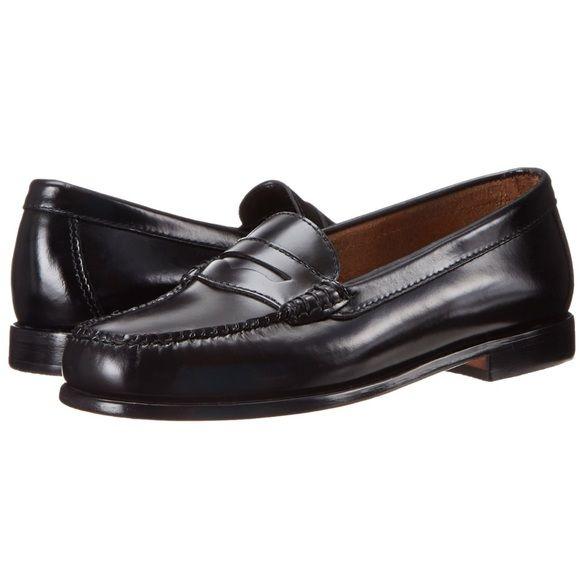 e2c3b669c5c Bass Shoes - Bass Weejuns Wayfarer Black Penny Loafers