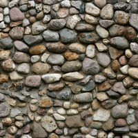 A Foundation With Large Exposed Areas Can Be Unsightly Fortunately The Concrete Cinder Block Typically Stone Walls Interior Building A Stone Wall Stone Wall