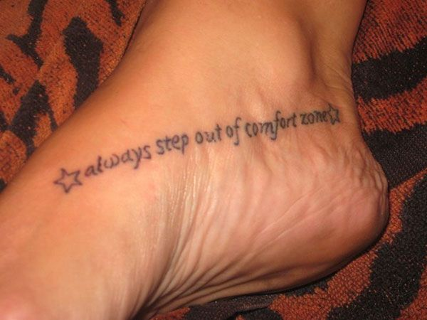 0f52b96f8 side foot tattoos 25 Refined Foot Tattoos Quotes | Tattoos and ...