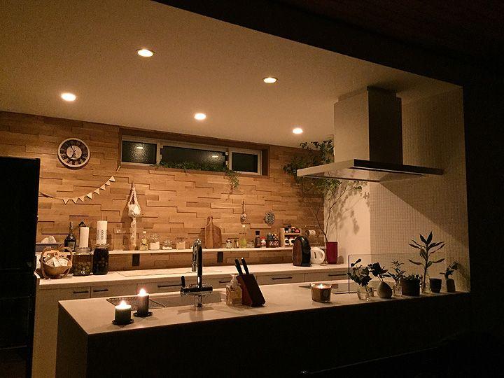 マンションリノベーション Acctree リビング キッチン キッチンインテリアデザイン インテリアデザイン