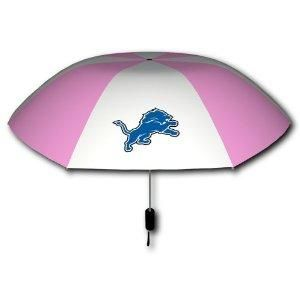 6102d777028f NFL Detroit Lions Pink & White 42-Inch Folding Umbrella | SO my ...