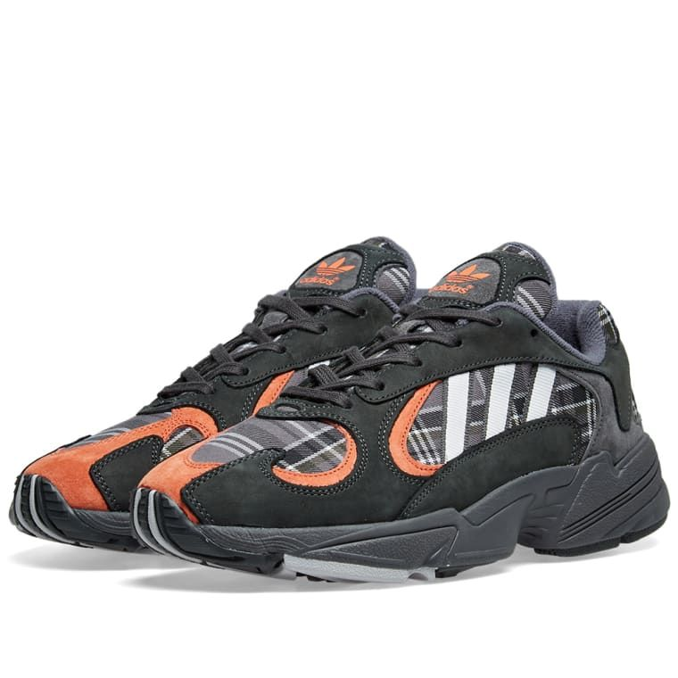 first rate ccd4a 55fbb Adidas Yung 1 Solid Grey   Amber 1 Retro Sneakers, Adidas Sneakers, Adidas  Originals