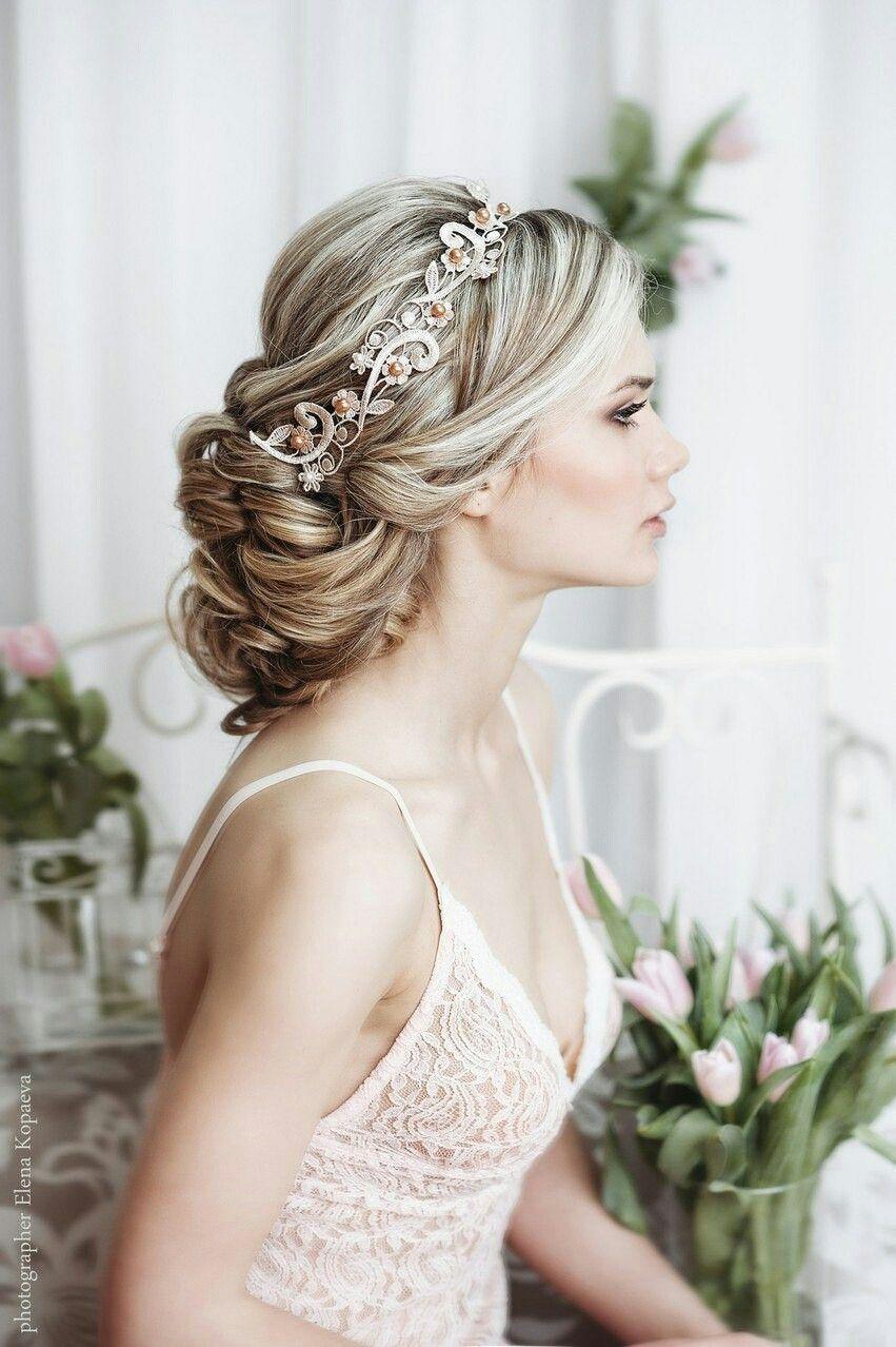 Pin by Anastasia Omelchenko on Прическа на свадьбу | Pinterest ...