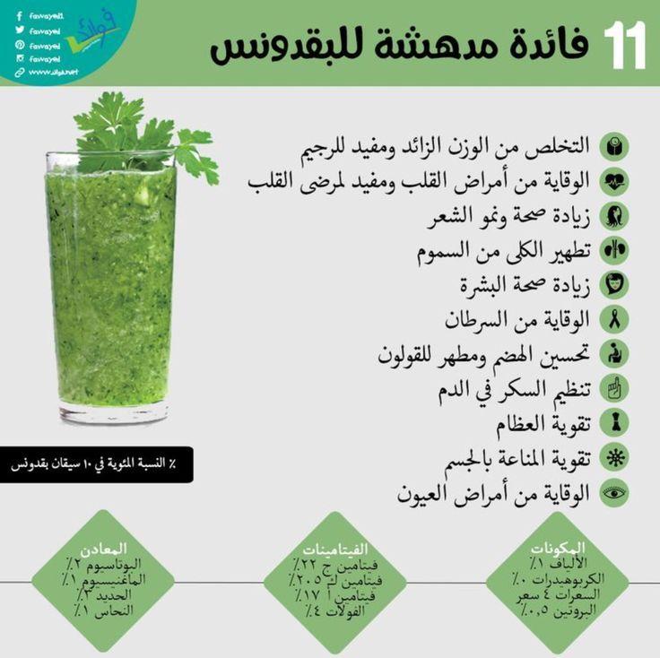 معلومات مدهشه عن البقدونس Health Facts Fitness Health Facts Food Organic Health