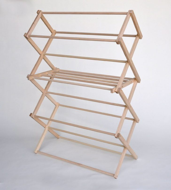 Simple but Alluring DIY Clothing Rack Ideas as Functional