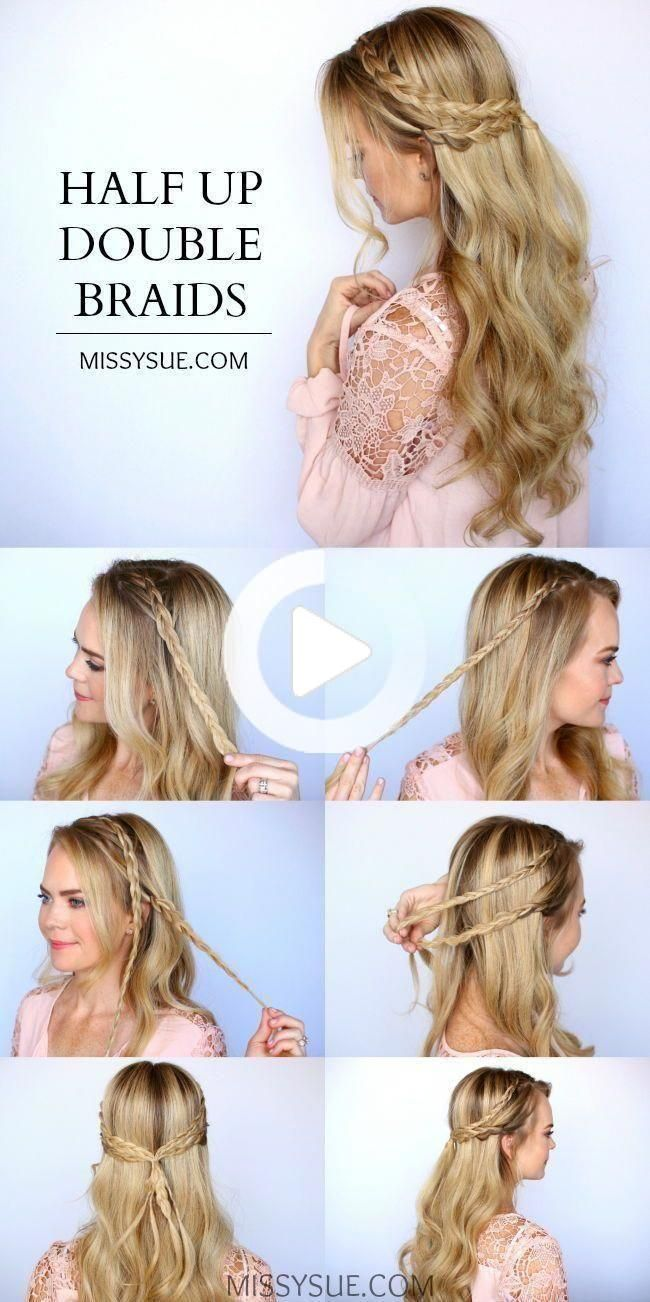 # Beginners #beginners #Easy #easyhairstylesstepbystep #Einfache #hairstyles # beginners #Easy Hairstyles for be… in 2020 | Hair styles, Curly hair photos, Long hair styles