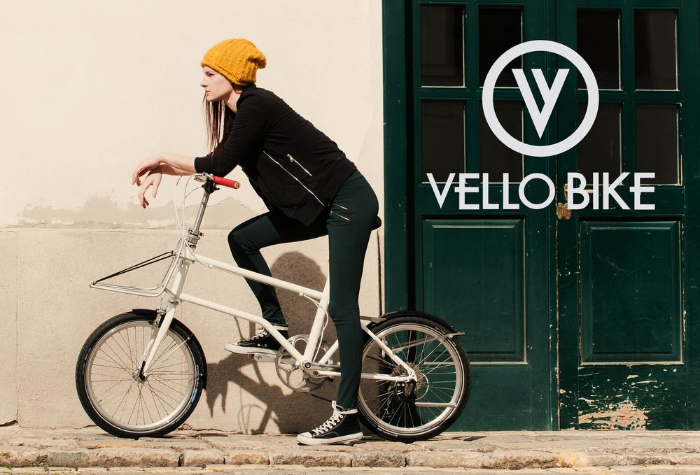 The First Urban Compact Bike Vello Bike Red Dot Best Of The Best