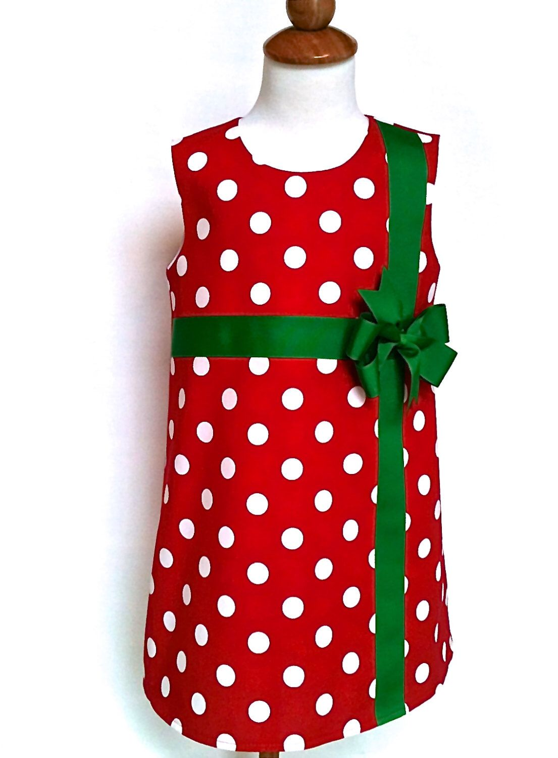 Girls Christmas Dress Toddlers Christmas Dress Red With