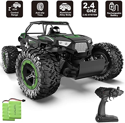 Amazon Com Xixov Rc Car 1 14 Aluminium Alloy Kids Large Size High Speed Fast Racing Monster Vehicle Electric Hobby Toy Truck Wi Rc Cars Hobby Toys Toy Trucks