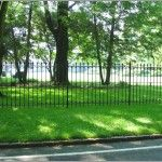 B- Wrought Iron Fencing  (21)
