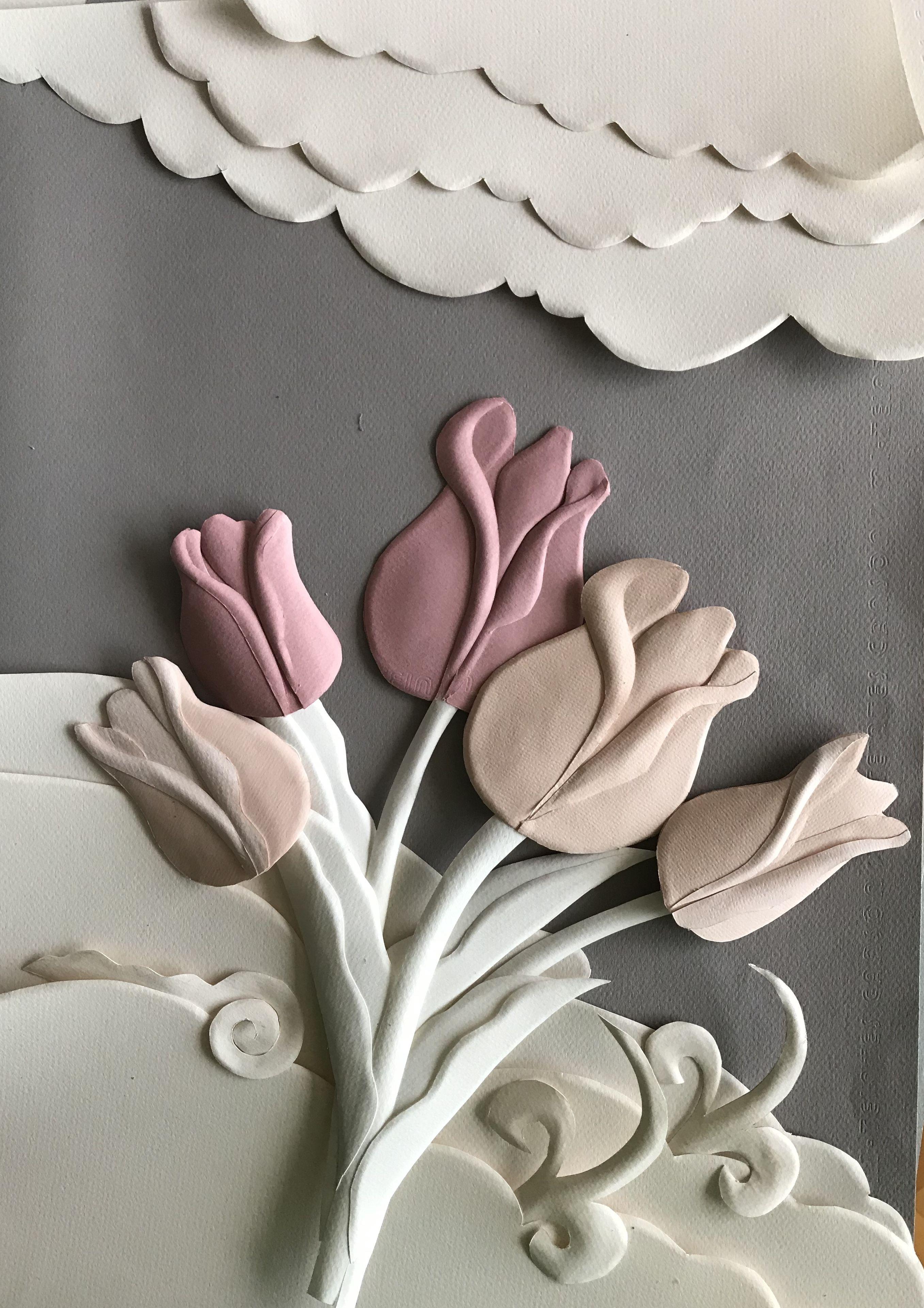 Paper Art Paper Sculpture Paper Illustration Kat Sanat By