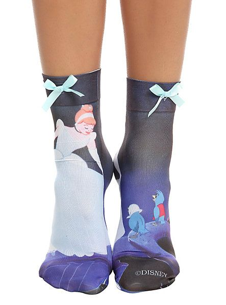 Disney Cinderella Anklet Sock   Hot Topic