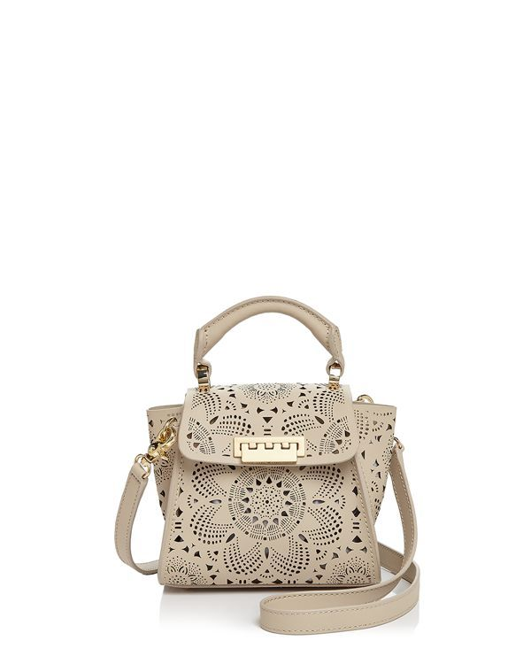 Zac Zac Posen Eartha Iconic Mini Top Handle with Floral Perforation