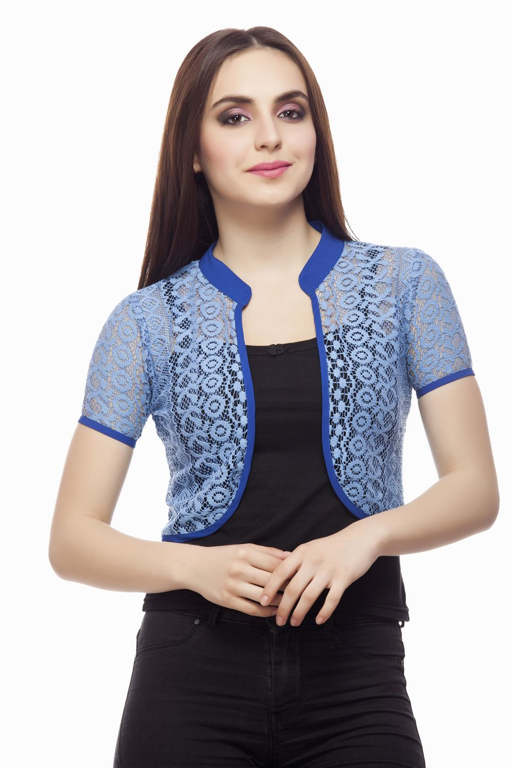 709989a0b89aa0 Beautiful shrug from Miss Queen . Shop online @ jabong,Limeroad ,Voonik,Flipkart,Paytm