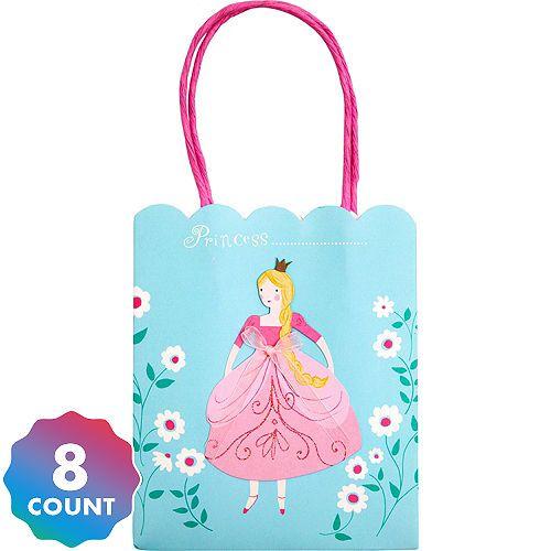 PRINCESS CROWN Reusable Shopper Tote Bag Bag For Life