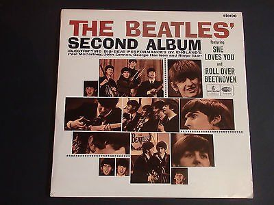 archived! GBP 565   Beatles Second Album Uk Export Black Yellow Cpcs 103 Lp A #vinyl #beatles https://t.co/6un3pJTueQ