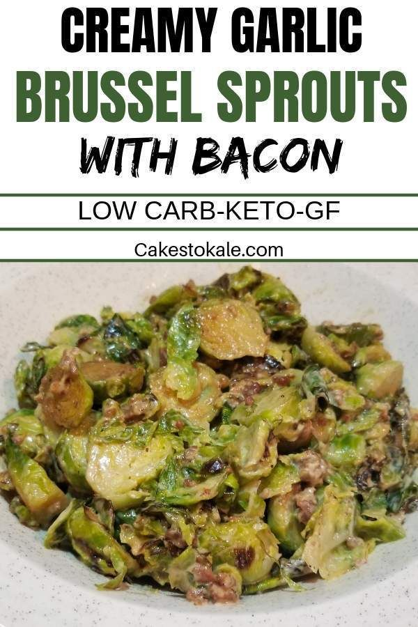 Creamy Brussel Sprouts With Bacon Recipe Creamy