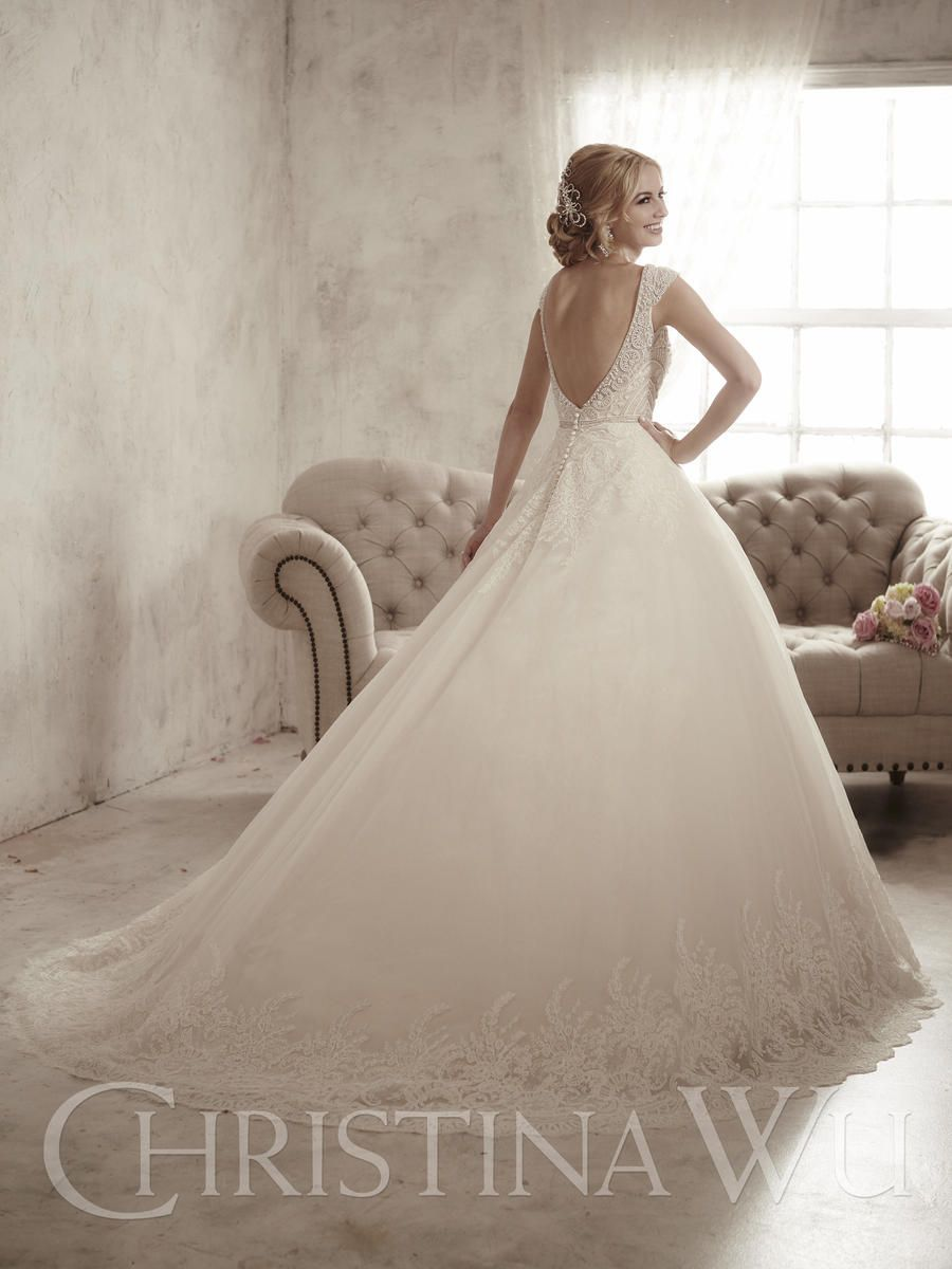Christina Wu 15597 The Wedding Bell Tacoma WA Bridal Gowns