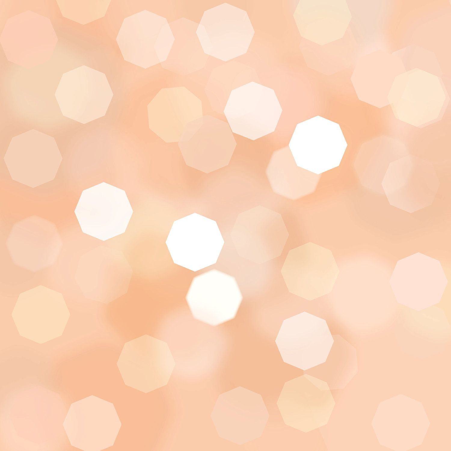 "Peach Coral Apricot Bokeh background 12"" x 12"" in 2019 ..."