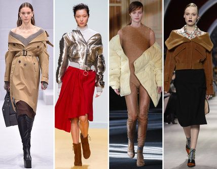 The 22 Trends, Fashion Ideas, and Styling Tricks We Loved from Fall 2016 #PFW - Off-the-Shoulder Jackets - from InStyle.com