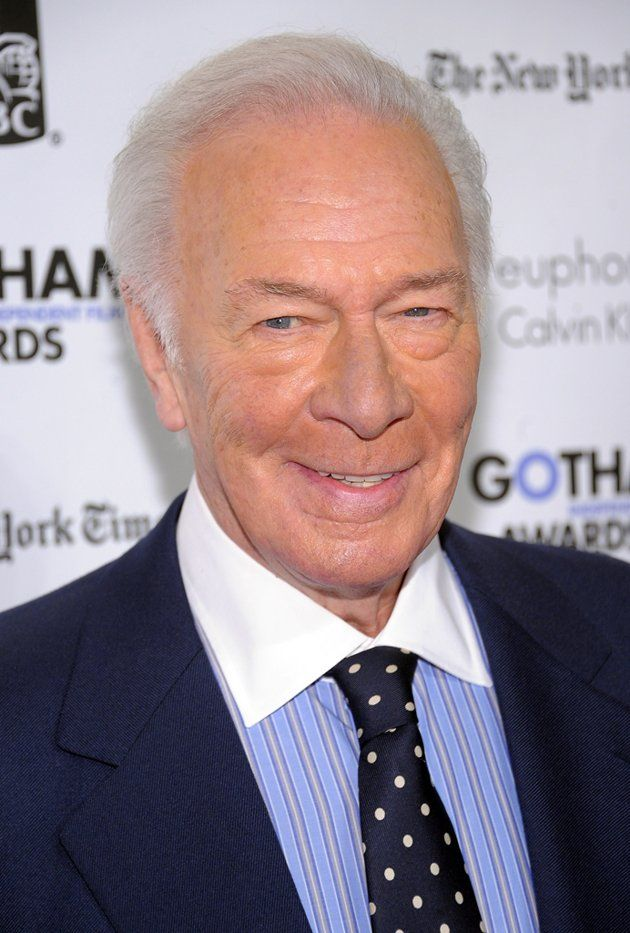 CHRISTOPHER PLUMMER, we would watch anything he stars in ...