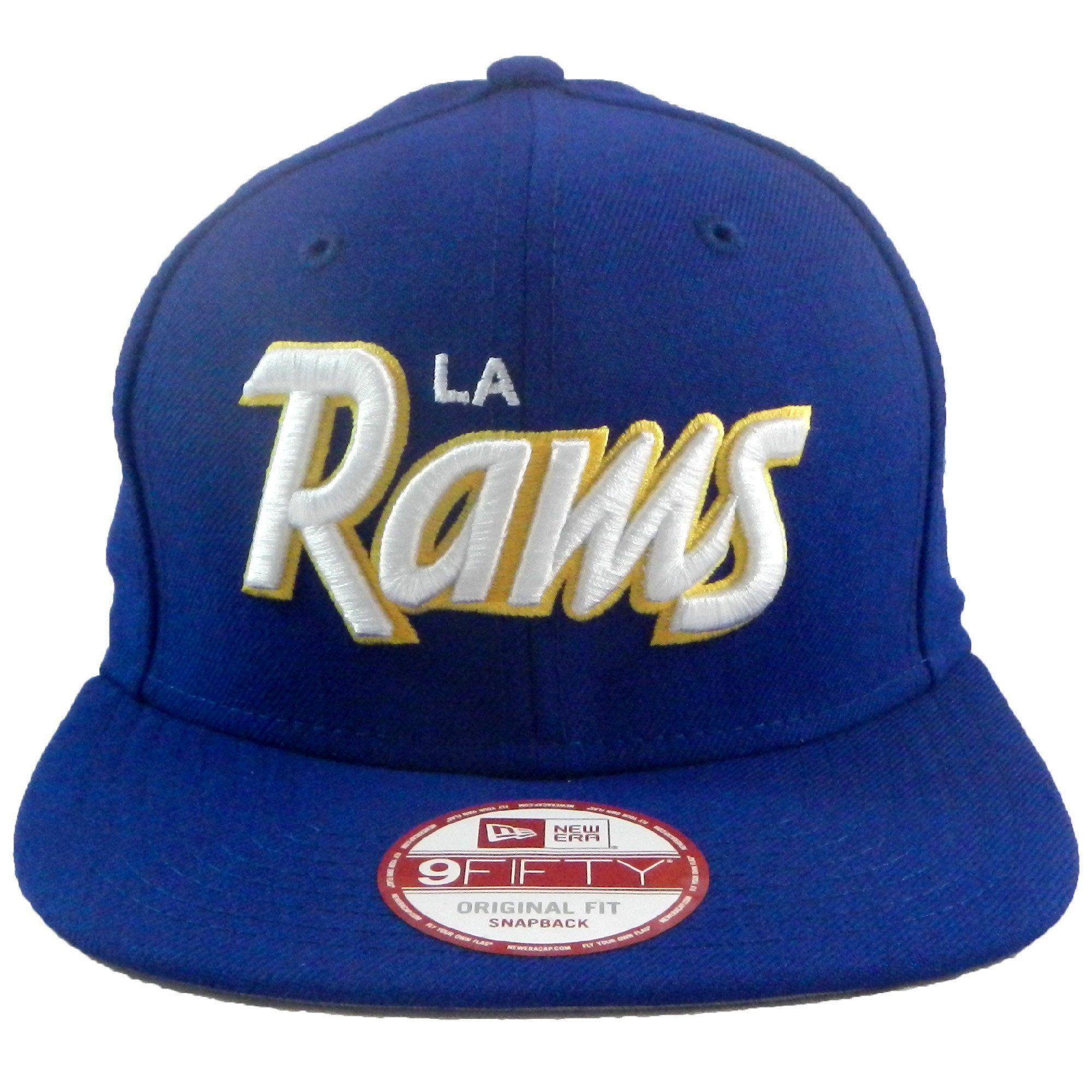 "LA Rams ""Script"" SnapBack New era hats, Los angeles rams"