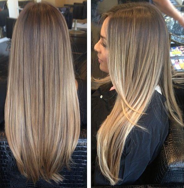 Nice Colour Balayage Hair Hair Styles Long Hair Styles