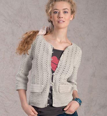 Au Au Au Phildar Le Crochet Tricot Modèle Femme Pinterest Veste 5FZxI8WqwB