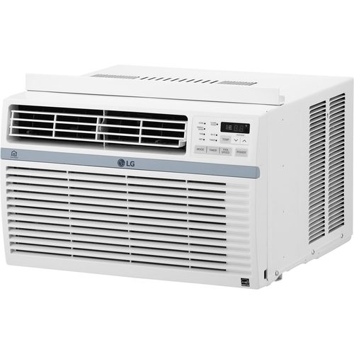 Lg 550 Sq Ft Smart Window Air Conditioner White Lw1217ersm Best Buy In 2020 Window Air Conditioner Room Air Conditioner High Efficiency Air Conditioner