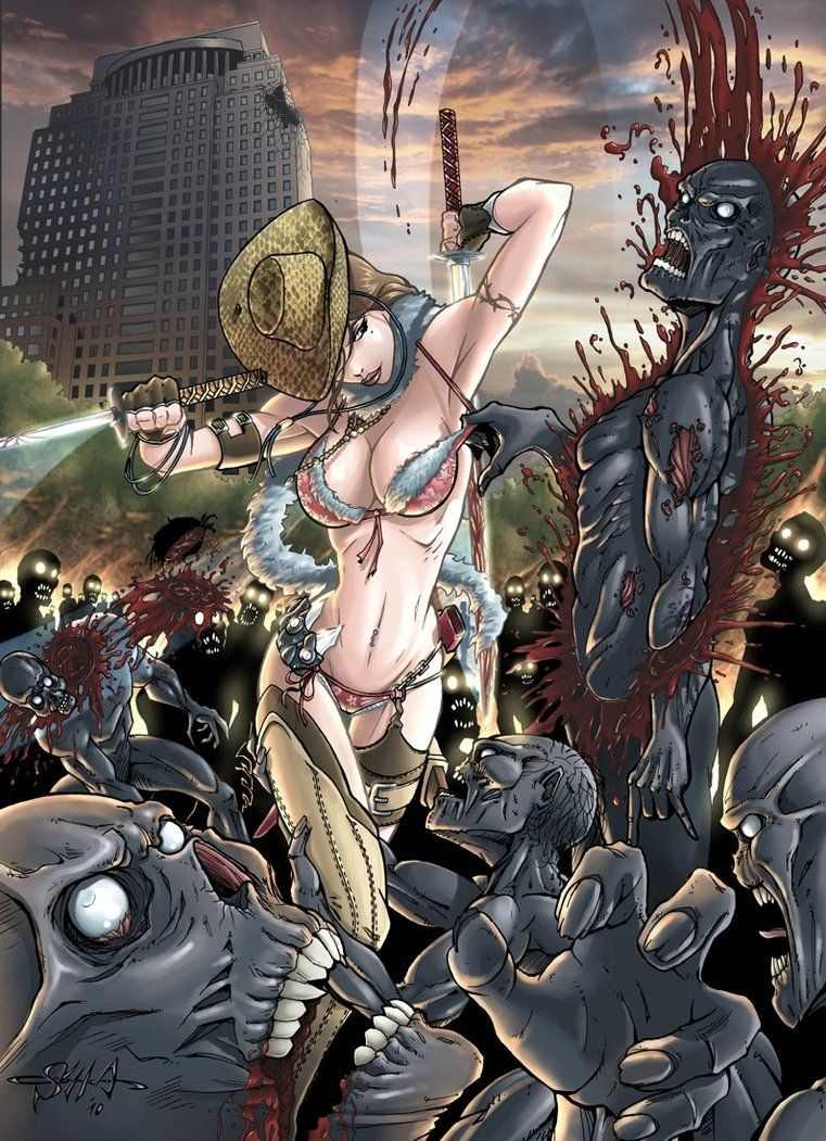 Onechanbara Aya By Killersha Anime Game Art Art