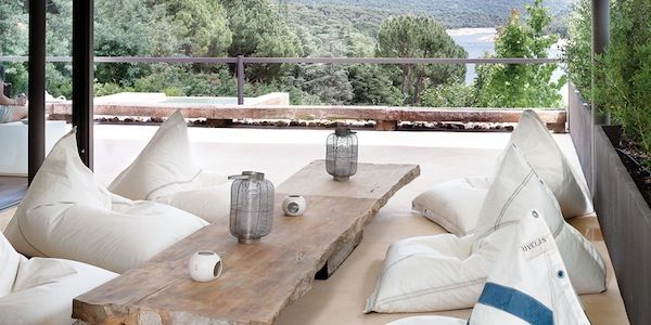 Awe Inspiring Sail Away With Dvelas Sailcloth Bean Bags Outdoor Gmtry Best Dining Table And Chair Ideas Images Gmtryco