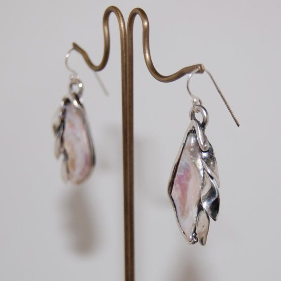 Check out this item in my Etsy shop https://www.etsy.com/listing/281690686/boho-pearl-earrings-unique-bridal-style