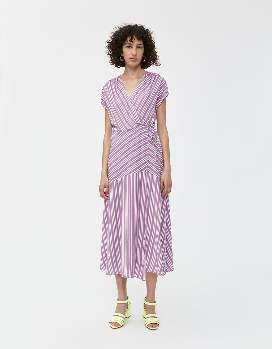 2bb7bc74e27a3 Edith Striped Dress in 2019 | Clothing by Color | Dresses, Striped ...