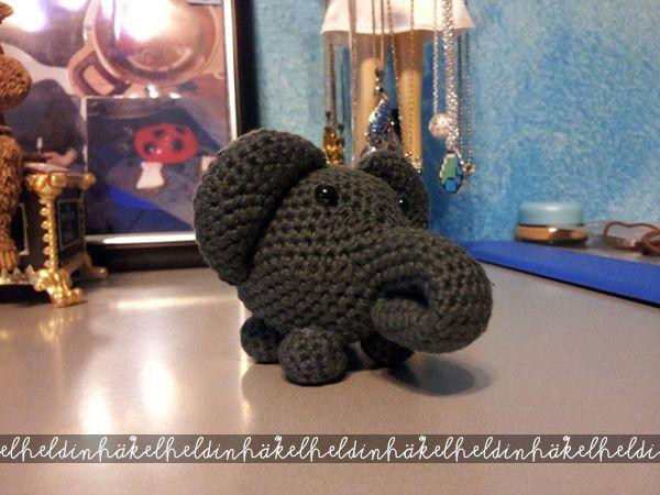 Gehäkelter Elefant Kostenlose Anleitung Häkeln Pinterest