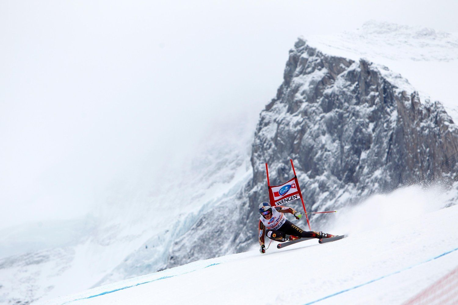 Which FIS downhill races scare the crap out of the pros and why?