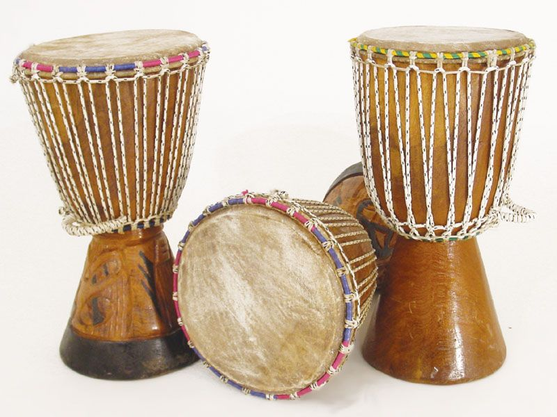 D'Jembe Drum – Medium. Djembe Drums are a traditional African ...
