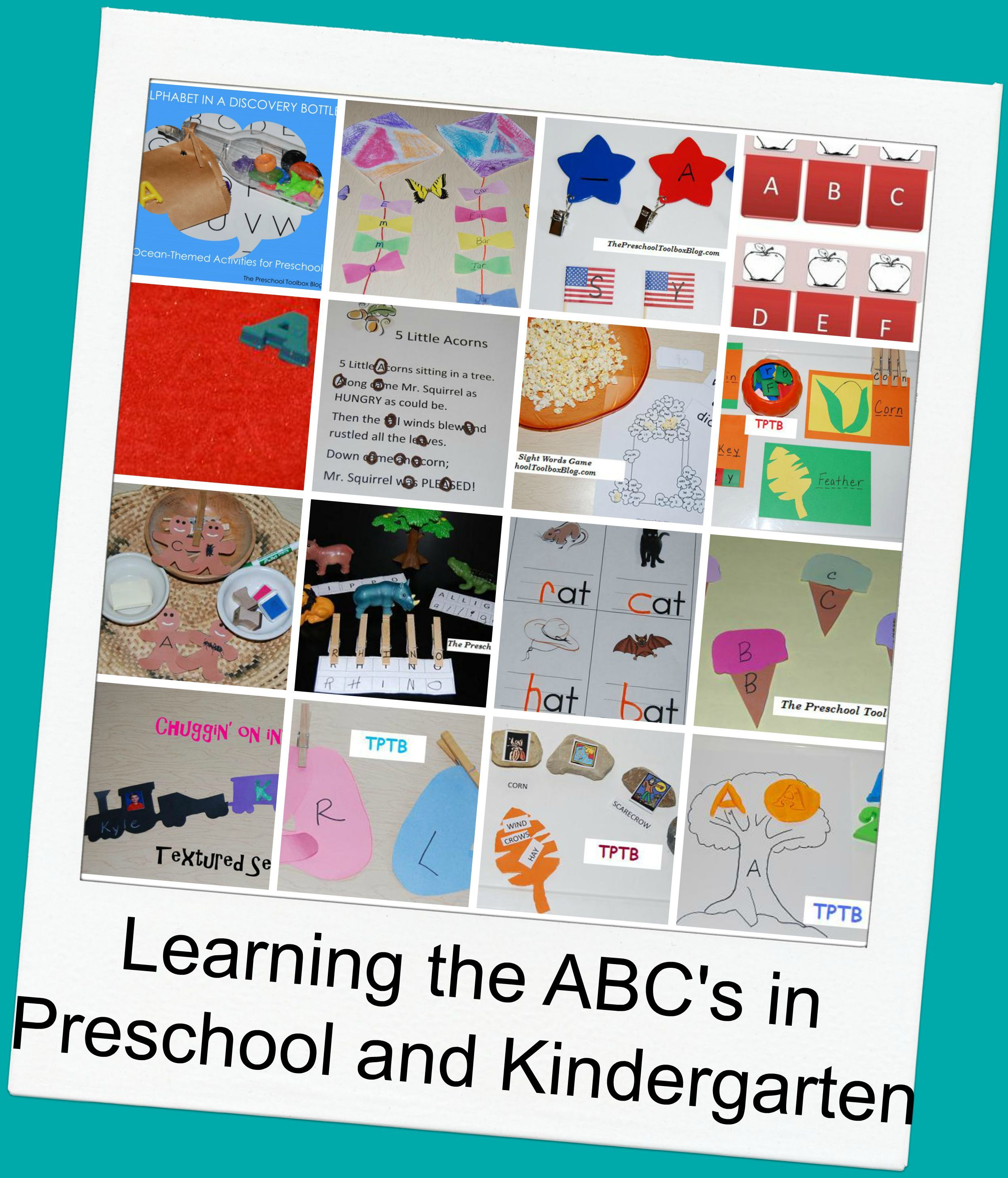 Playful Learning Literacy Games For Preschool And