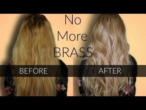 Toning Brassy Hair Wella T18 Amp T11 Easy At Home Hair