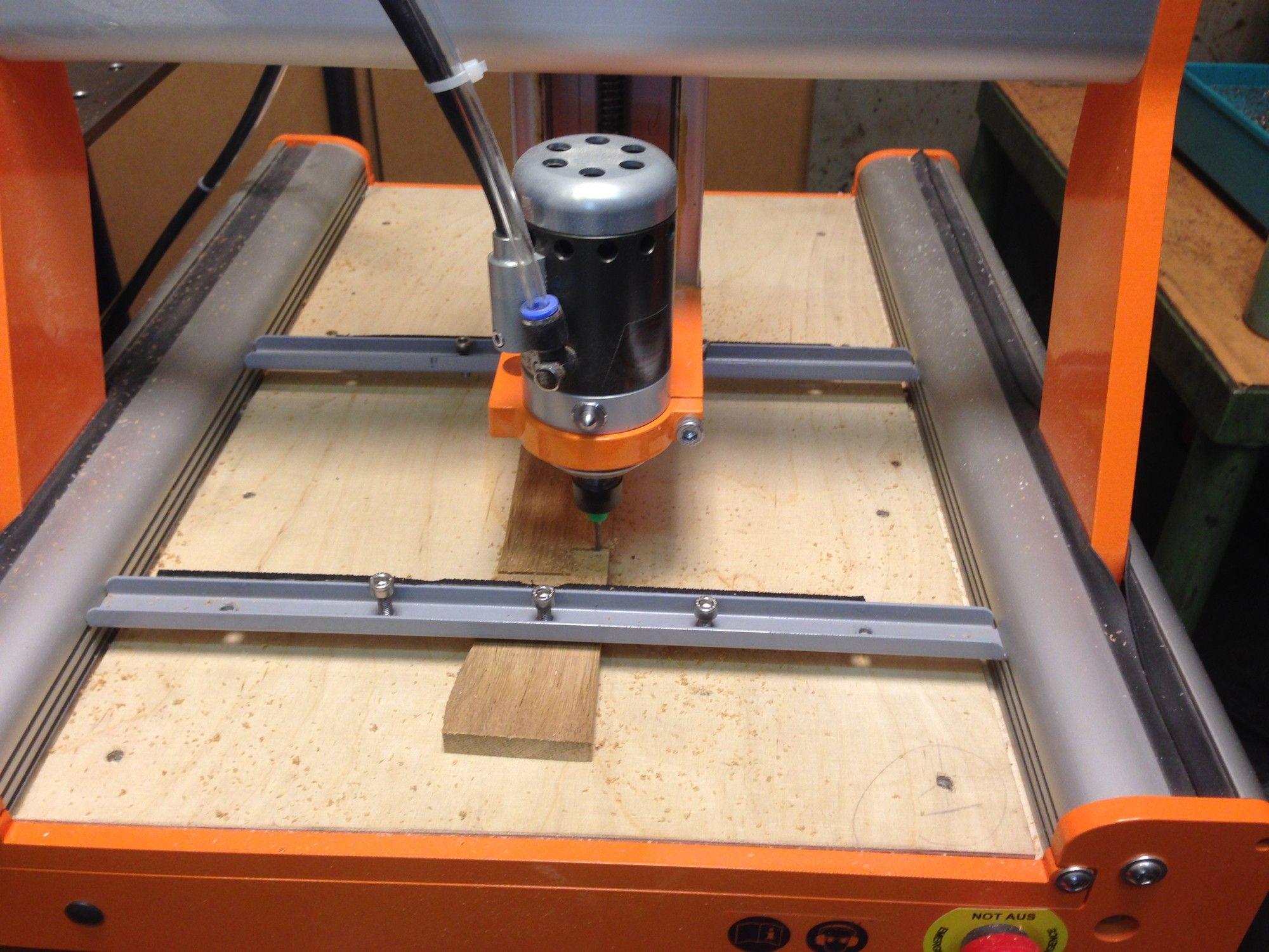Im Test Die Multifunktionsmaschine Stepcraft 2 420 als CNC Fräse