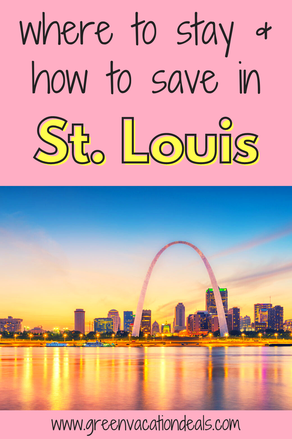 St. Louis, Missouri travel guide. You can learn of activities (gardens, Archway, walking history & downtown food tour, etc.). Plus, find out how to save up to 59% on hotel rates. Great for deciding where to stay in St. Louis. #StLouis #SaintLouis #Missouri #HotelDeals #TravelDeals #Travelsale #hotelsale #travelhacks #DowntownStLouis #Midwesttravel #budgettravel #budgettraveler #budgetvacation #MarkTwain #foodie