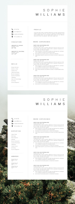 Simple Resume Template Resume Cv Template Professional Resume Design Cv Template Word Simple Resume Template Resume Design Resume Template