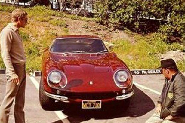 Steve Mcqueen Ferrari Sells For 6million At Auction 4 Times Its Normal Value Steve Mcqueen Cars Steve Mcqueen Steve Mc