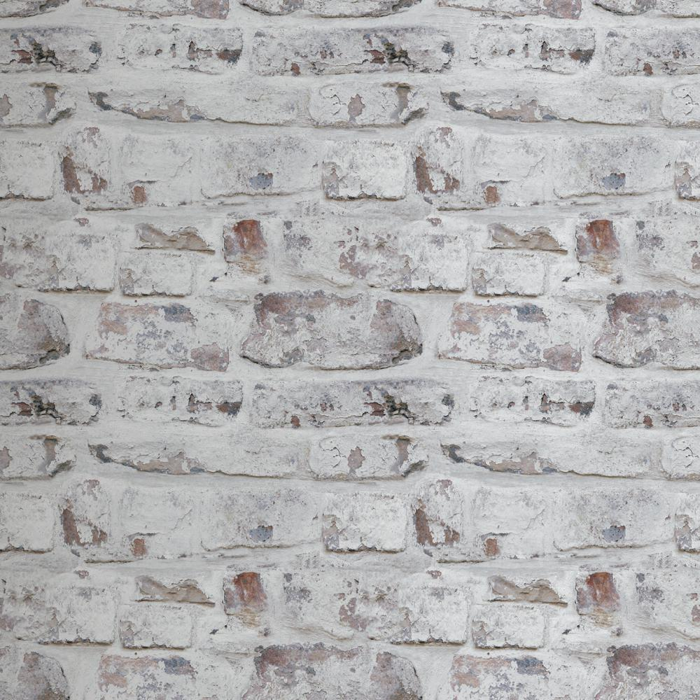 Arthouse Whitewash Wall White Paper Strippable Wallpaper Covers 57 26 Sq Ft 671100 The Home Depot In 2021 White Brick Wallpaper Brick Wall Wallpaper Faux Brick Wallpaper