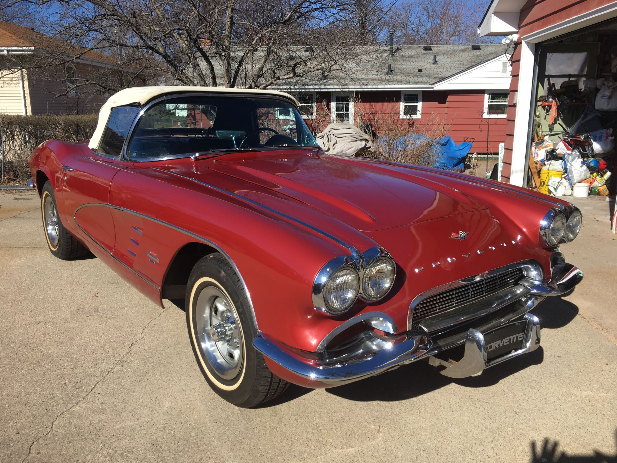 1961 Chevrolet Corvette For Sale Allcollectorcars Com In 2020 Chevrolet Corvette Chevrolet Corvette For Sale